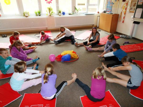 Yoga im Hort
